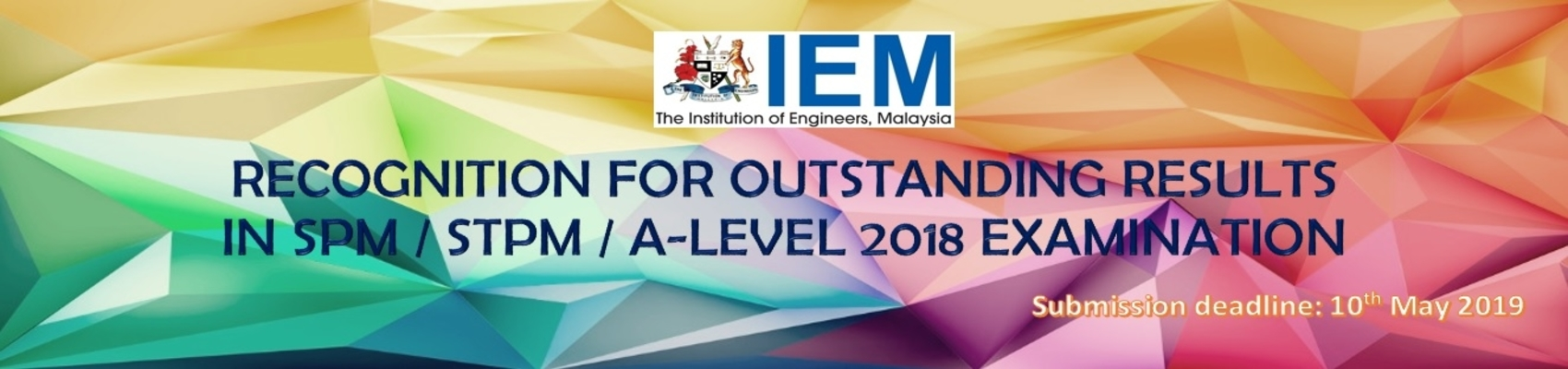 Recognition for Outstanding Results in SPM / STPM / A-LEVEL 2018 Examination