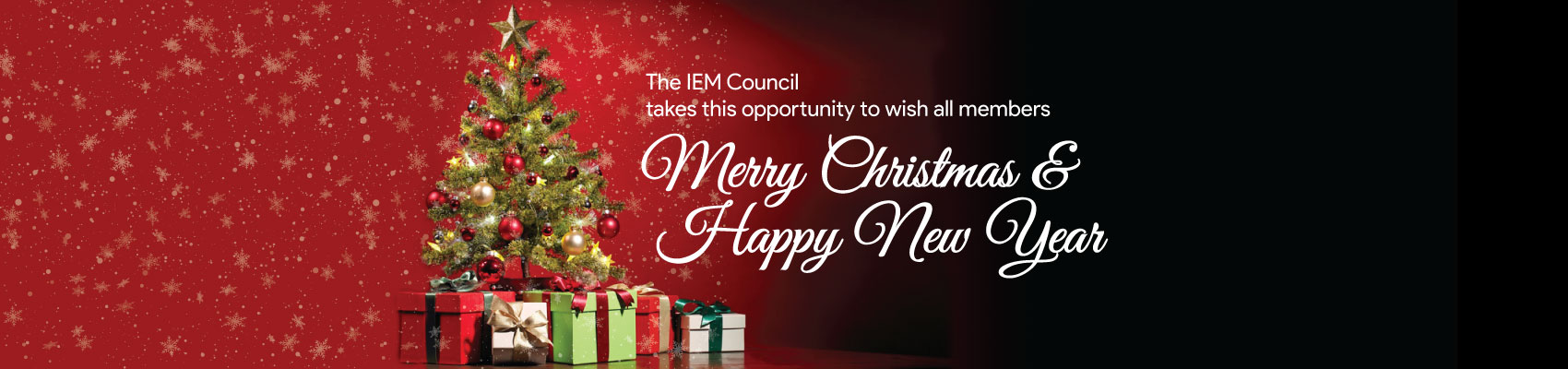IEM - Merry Christmas & Happy New Year